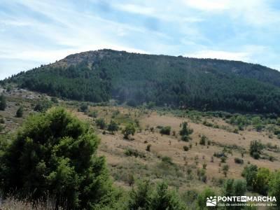 Cabeza de Braña, Mondalindo y Peña Negra - Senderismo por Madrid;montañas sitios para visitar en